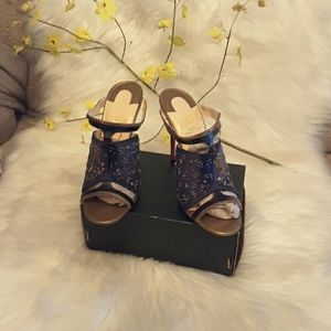 Authentic lubation special edition zodiac mules